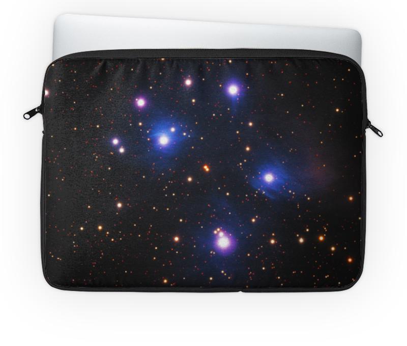 Чехол для ноутбука 14'' Printio Космос (space) чехол для ноутбука 14 printio garrus vakarian is my space boyfriend