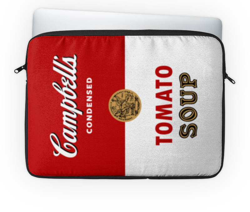 где купить Чехол для ноутбука 14'' Printio Суп кэмпбелл по лучшей цене