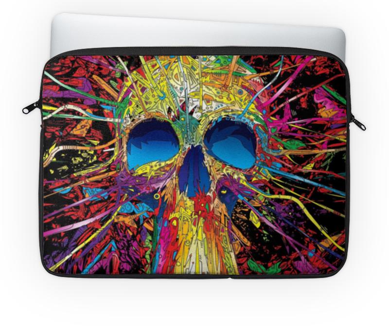 Чехол для ноутбука 14'' Printio Skull - 19 часы круглые из дерева printio princess celestia color line