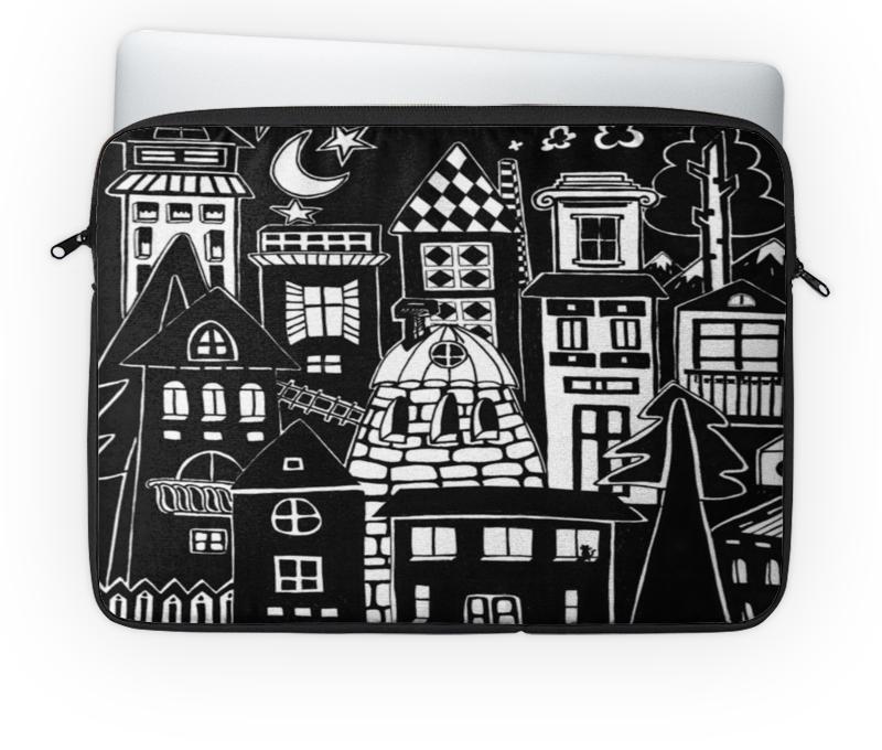 Чехол для ноутбука 14'' Printio Город вместе с тобой б у сумку для ноутбука
