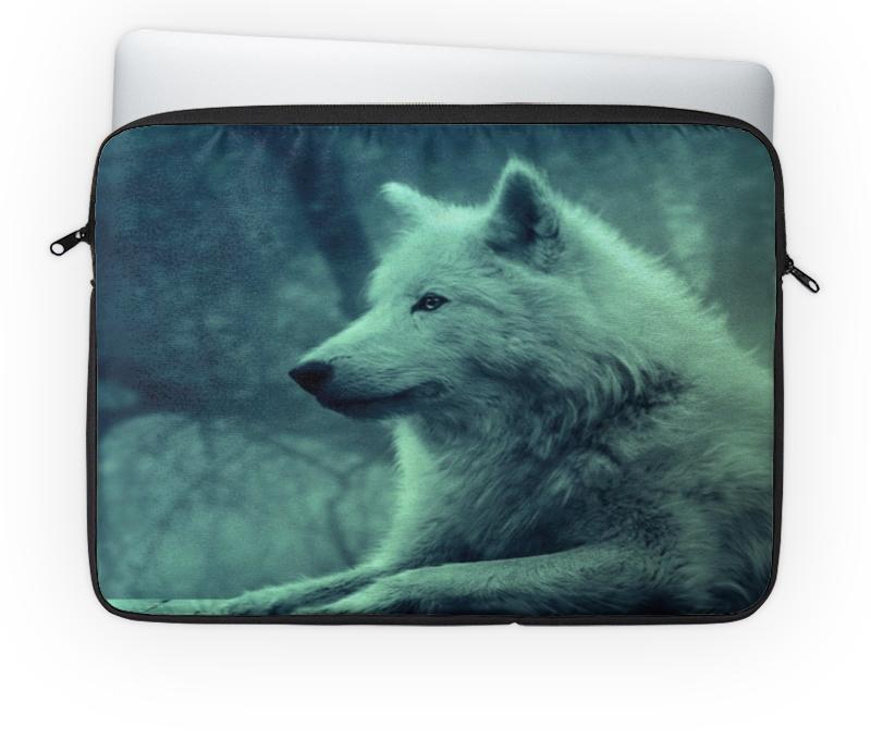 Чехол для ноутбука 14 Printio North star - волк чехол для ноутбука 12 printio волк в лесу