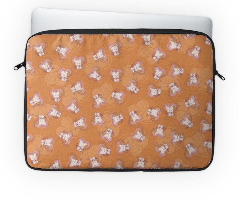 Чехол для ноутбука 14'' Printio Котенок с клубком торт printio котенок