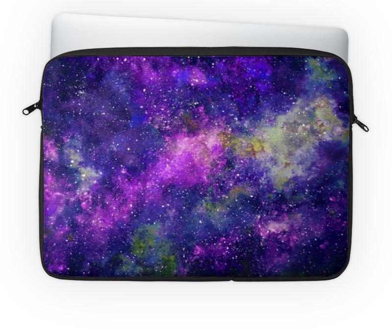 Чехол для ноутбука 14'' Printio Космос фиолетовый чехол для карточек монстр фиолетовый дк2017 105