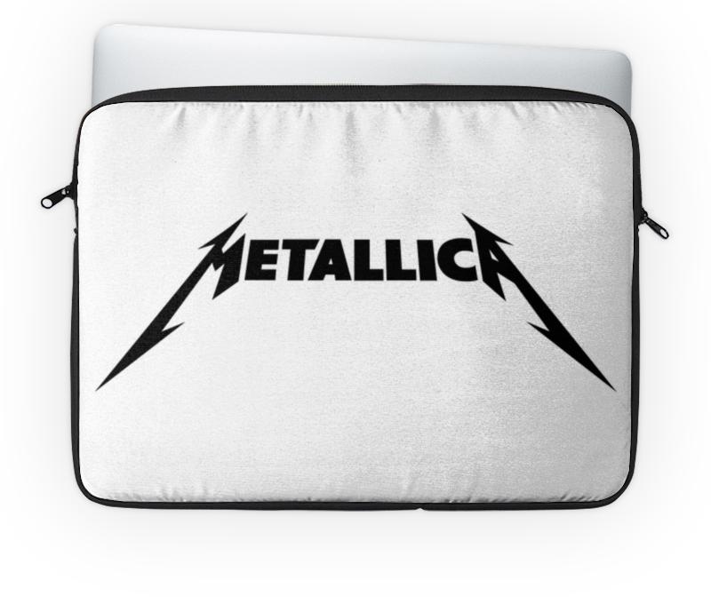 Чехол для ноутбука 14 Printio Metallica чехол для ноутбука 14 printio playstation