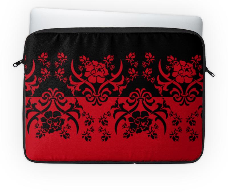 Чехол для ноутбука 14'' Printio Красно-черный кружевной красно черный комплект 42 44