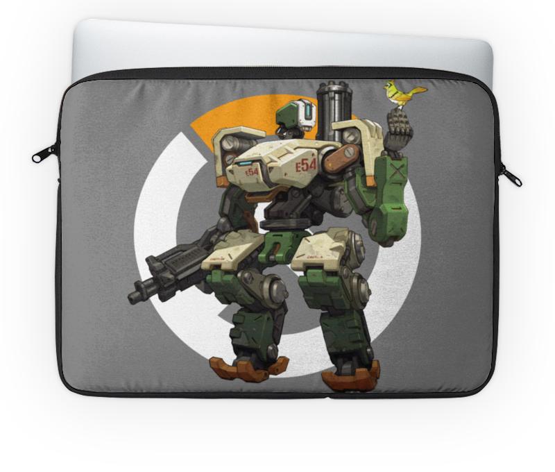 Чехол для ноутбука 14'' Printio Overwatch bastion / овервотч бастион сумка с полной запечаткой printio overwatch bastion овервотч бастион