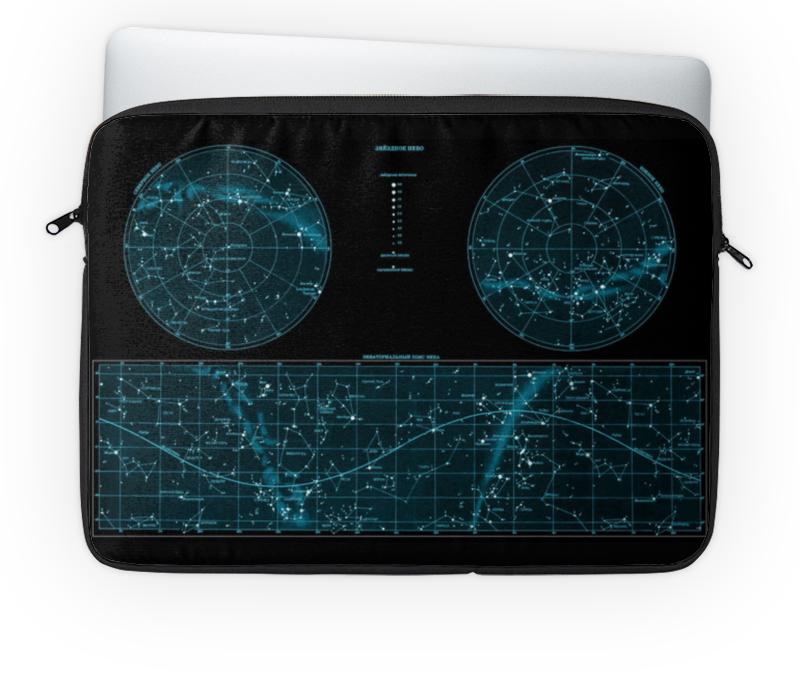 Чехол для ноутбука 14'' Printio Карта звёздного неба goldfish карта goldfish съемная бумага для кухни насосной полотенца пакет 75 насосных 3