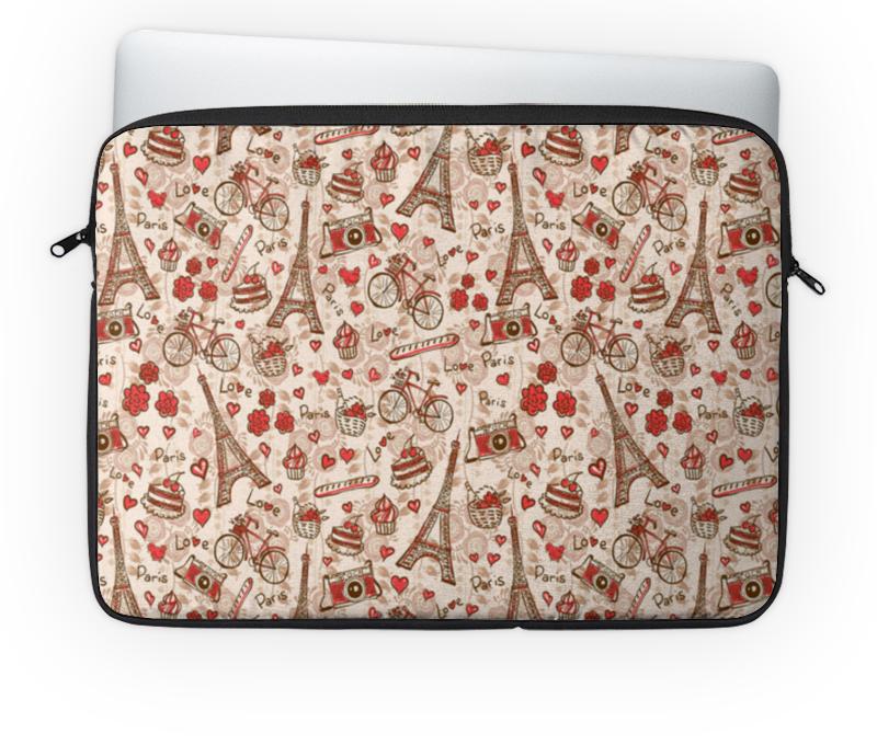 Чехол для ноутбука 14'' Printio Париж шкатулка фолиант париж 21 14 3см