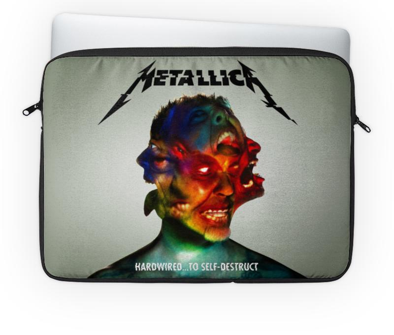 Чехол для ноутбука 14'' Printio Metallica band чехол для ноутбука 14 printio stickers