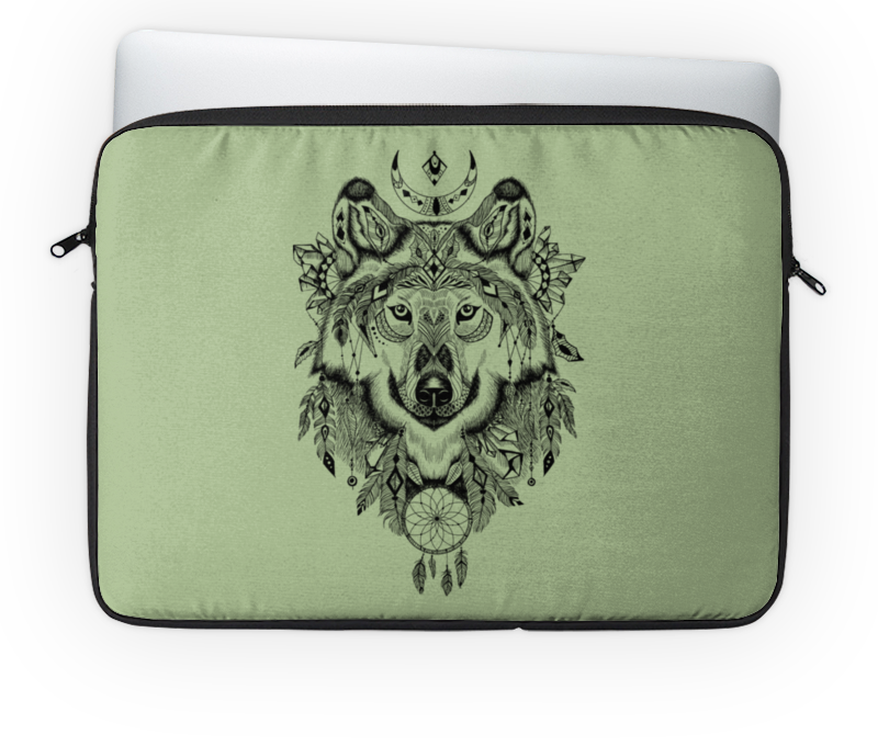 Чехол для ноутбука 14 Printio Тотем. волк чехол для ноутбука 12 printio волк в лесу