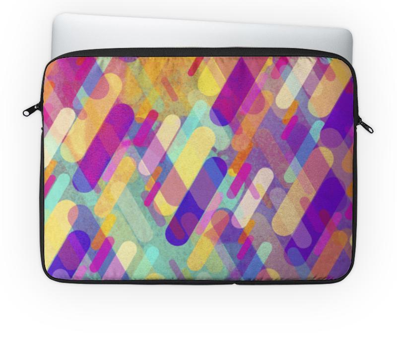 Чехол для ноутбука 14'' Printio Разноцветная абстракция