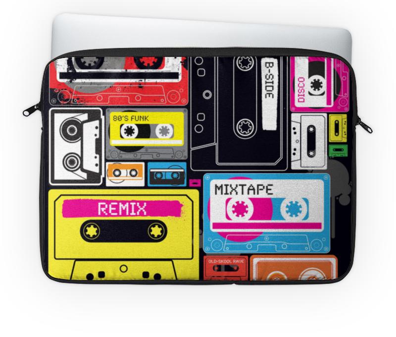 Чехол для ноутбука 14'' Printio Музыкальное ретро