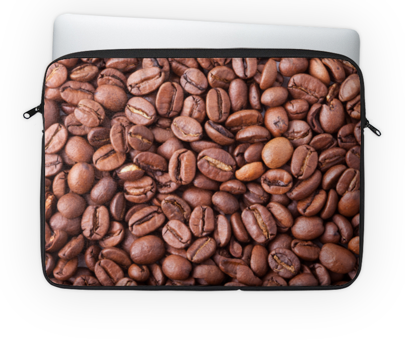 Чехол для ноутбука 14 Printio Зерна кофе чехол для ноутбука 12 printio кофе сова