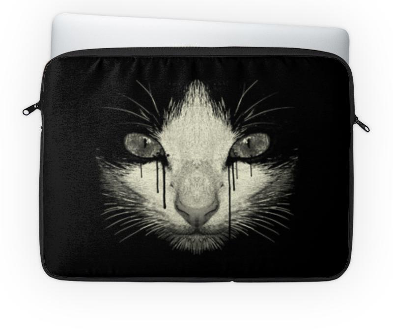 Чехол для ноутбука 14'' Printio Cat night ssd винчестер для ноутбука