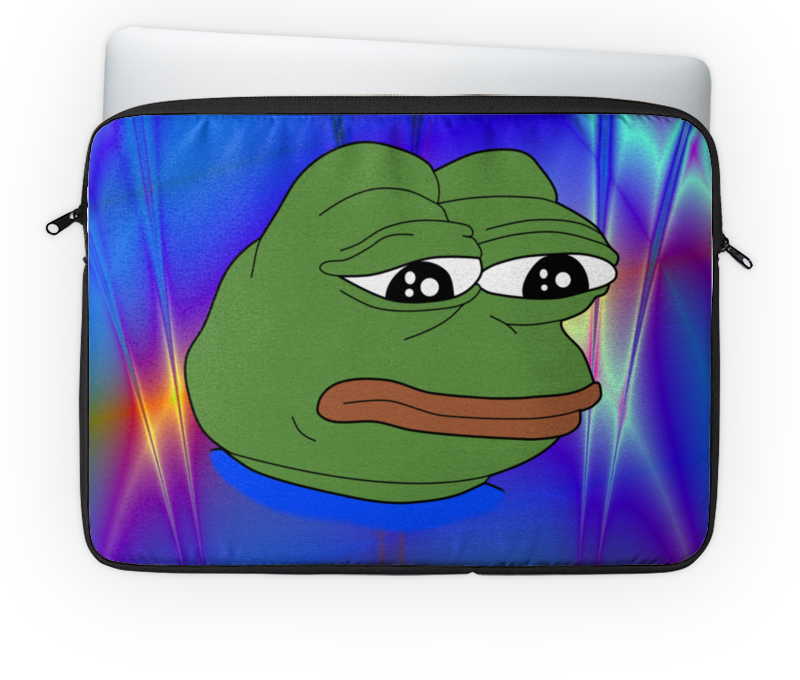 Чехол для ноутбука 14'' Printio Pepe frog чехол для ноутбука 14 printio изгой один звёздные войны