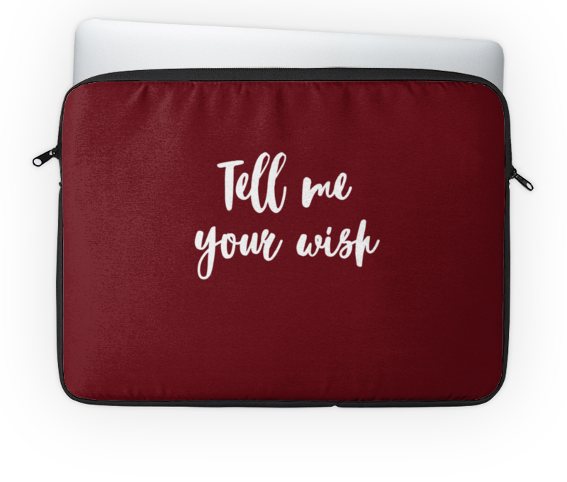 Чехол для ноутбука 14 Printio Tell me your wish блокнот printio tell me your wish