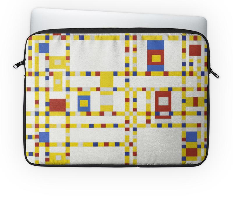 Чехол для ноутбука 14'' Printio Бродвей буги-вуги (питер мондриан) чехол для карточек пит мондриан дк2017 110