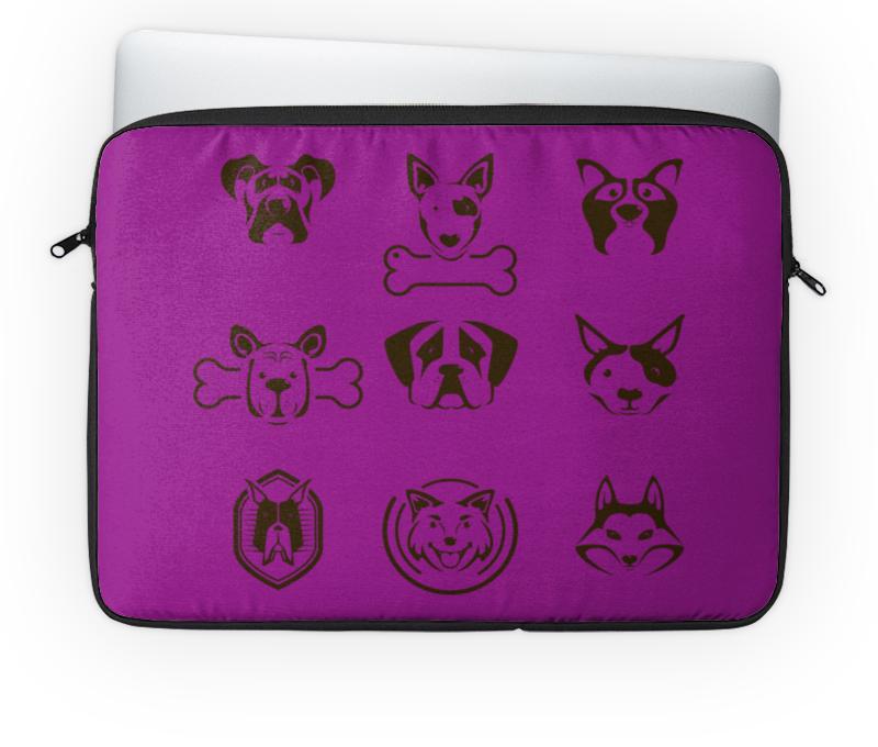 Чехол для ноутбука 14'' Printio Собаки чехол для ноутбука 14 printio собаки