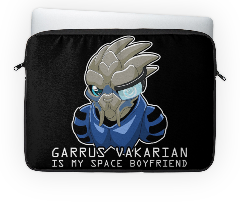 Чехол для ноутбука 14 Printio Garrus vakarian is my space boyfriend my space mm5080004