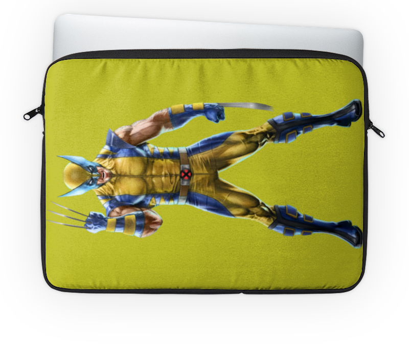 Чехол для ноутбука 14'' Printio Wolverine / росомаха настольная лампа chiaro декоративная райский сад 623030413