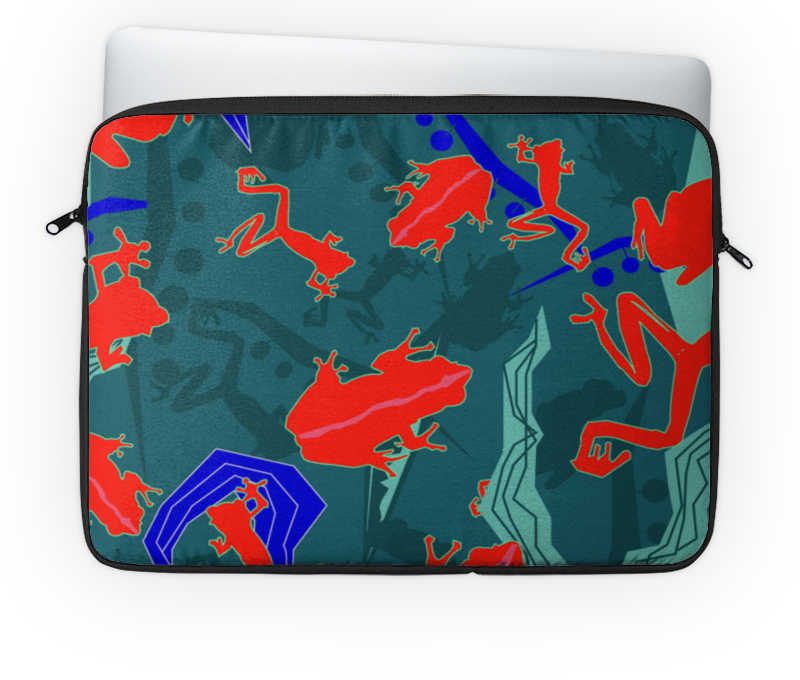 Чехол для ноутбука 14 Printio Древесные лягушки чехол для ноутбука 14 printio изгой один звёздные войны