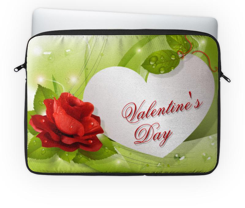 Чехол для ноутбука 14'' Printio Валентинка сувенирный чехол валентинка хипстер