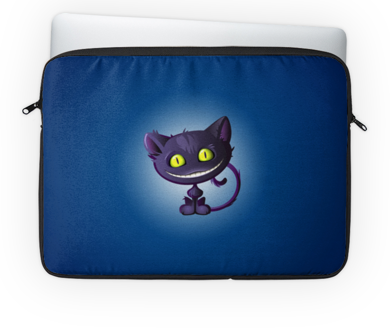 Чехол для ноутбука 14'' Printio Чеширский кот плюшевая маска чеширский кот uni