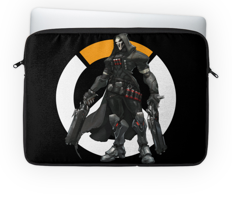Чехол для ноутбука 14'' Printio Overwatch reaper / жнец овервотч reaper man