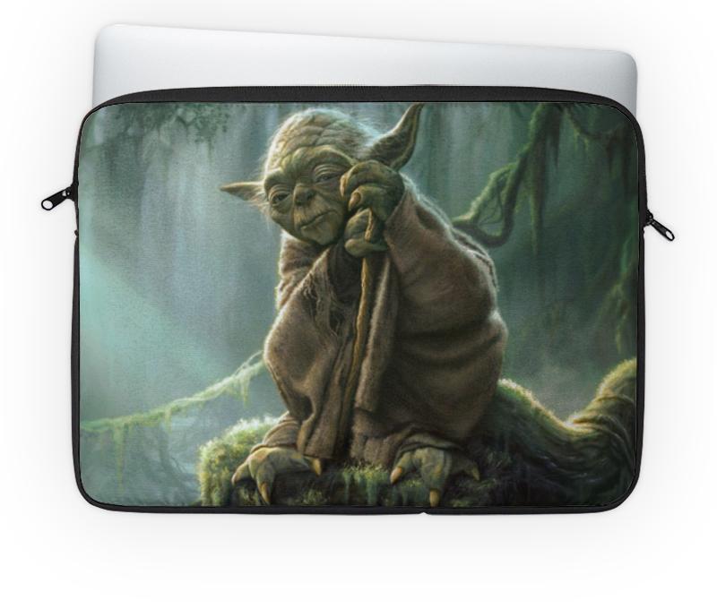 Чехол для ноутбука 14 Printio Магистр йода (звездные войны) erichkrause школьная сумка магистр йода звездные войны
