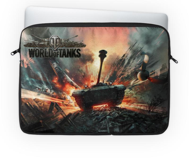 Чехол для ноутбука 14'' Printio World of tanks чехол для ноутбука 14 printio изгой один звёздные войны