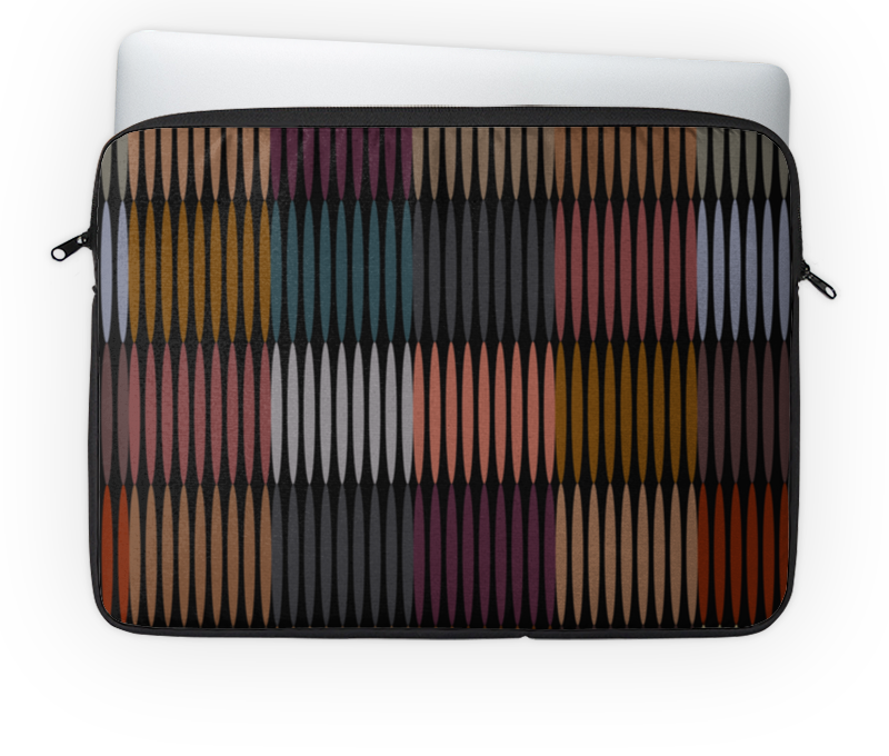 Чехол для ноутбука 14'' Printio Цветная абстракция чехол для ноутбука 14 printio волк абстракция