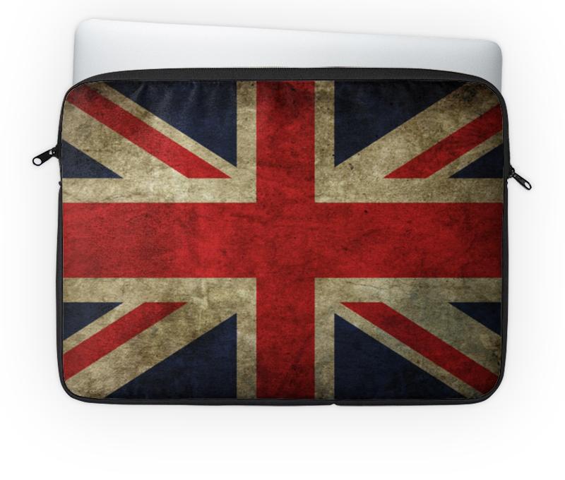 Чехол для ноутбука 14'' Printio Английский флаг чехол для ноутбука 12 printio английский бульдог