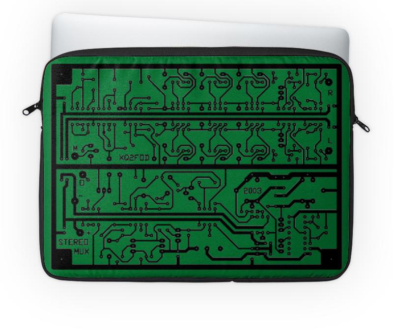 Чехол для ноутбука 14'' Printio Электроника электроника в автомобиле вып 123