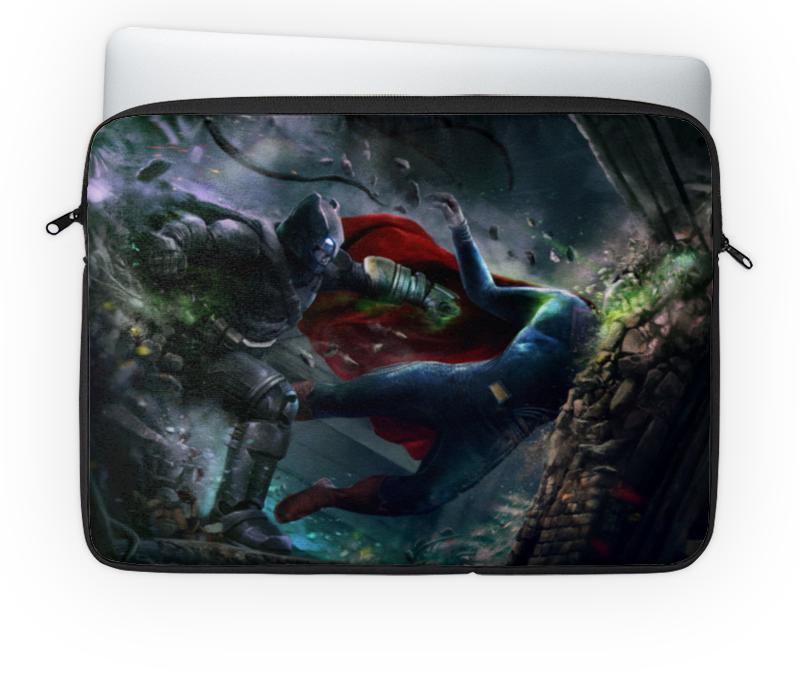 Чехол для ноутбука 14'' Printio Batman vs superman колесникова е я уже считаю р т для детей 6 7 лет