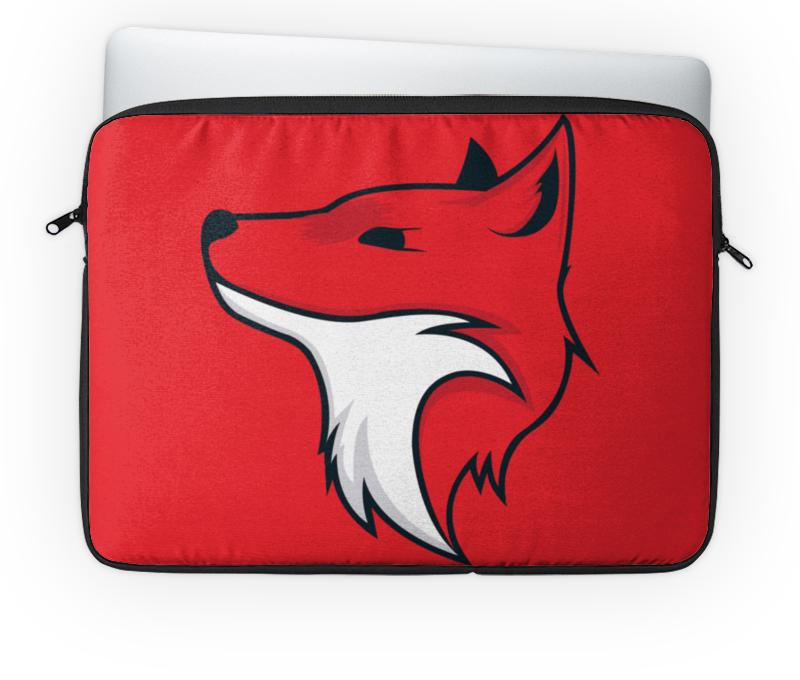 Чехол для ноутбука 14'' Printio Fox / лиса red fox чехол для ноутбука v case 11 1200 т красный