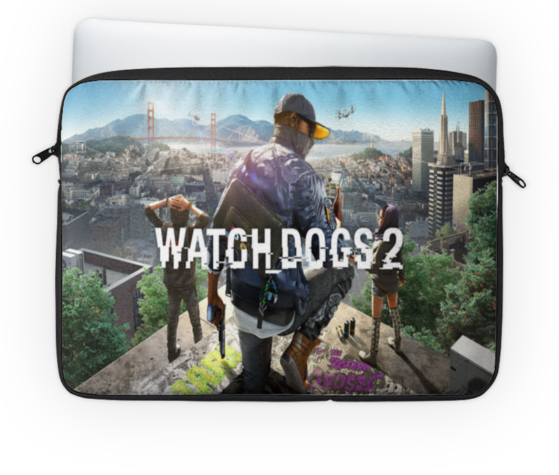 Чехол для ноутбука 14'' Printio watch dogs 2 интерфейс для ноутбука ieee1394