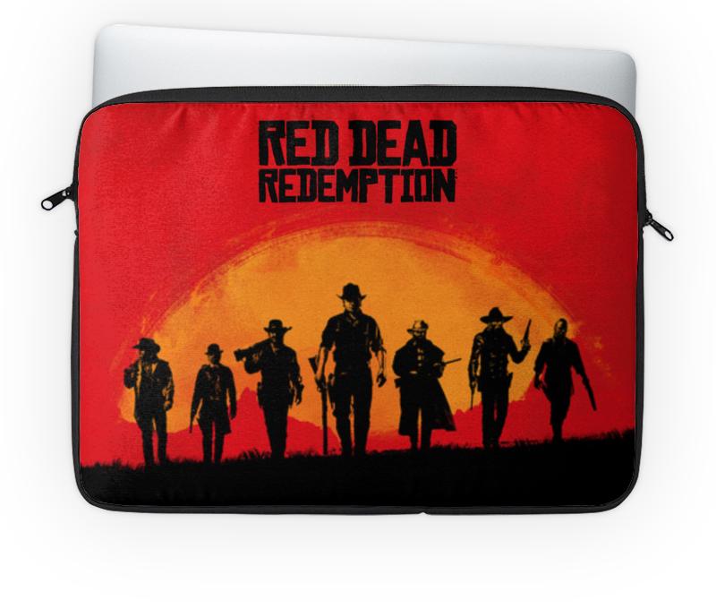 Чехол для ноутбука 14 Printio Red dead redemtion game сумка printio red dead redemtion game