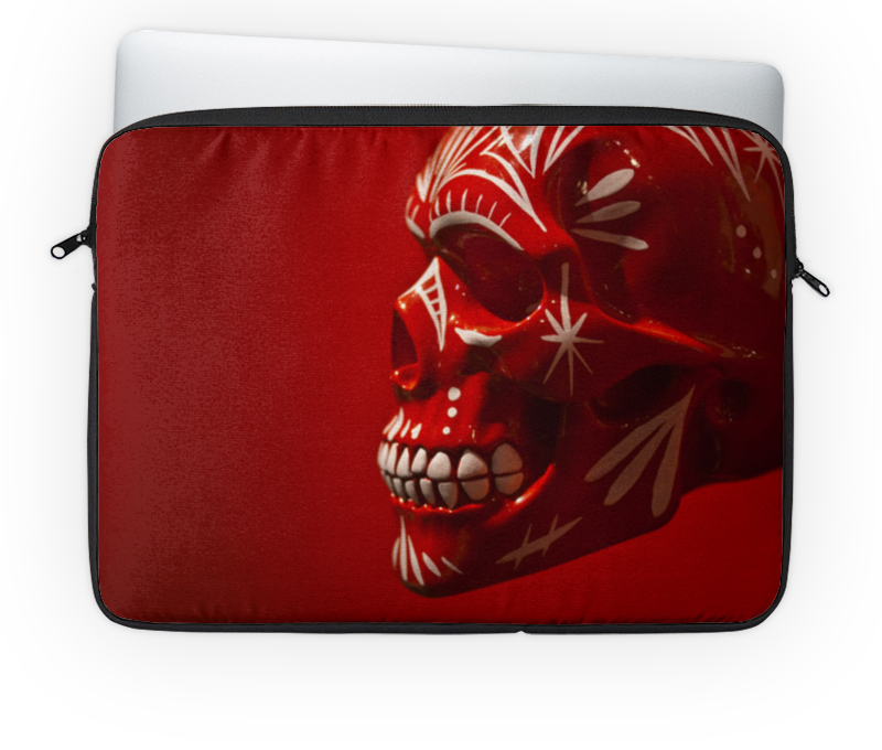 Чехол для ноутбука 14 Printio Skull - 6 чехол для ноутбука 14 printio изгой один звёздные войны