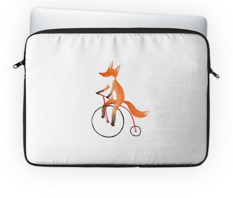 Чехол для ноутбука 14'' Printio Funny fox чехол для ноутбука 14 printio stickers