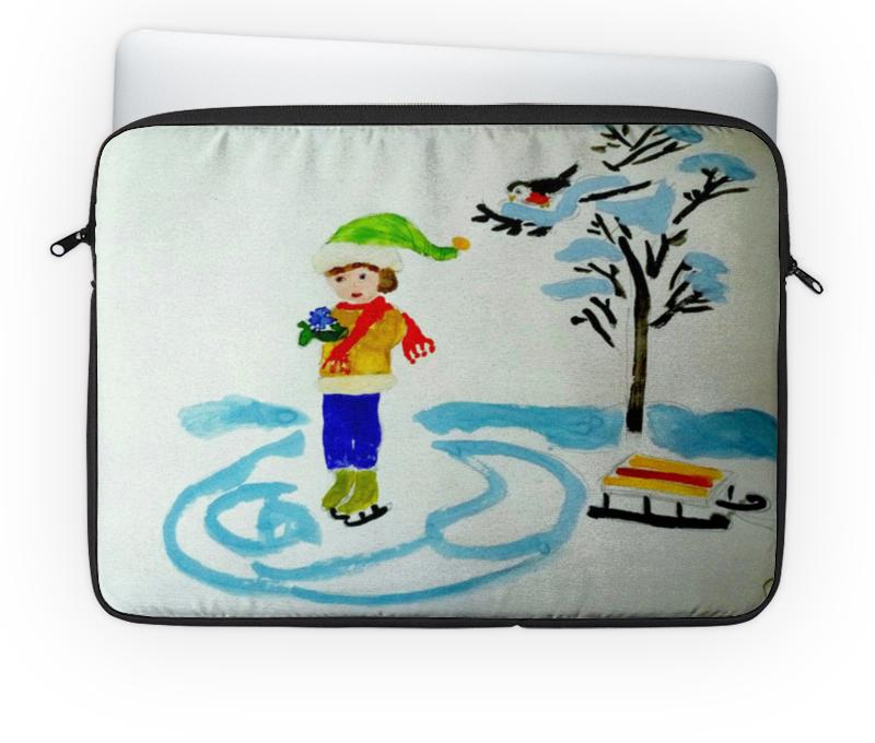 Чехол для ноутбука 14 Printio Зимние забавы детский свитшот унисекс printio зимние забавы