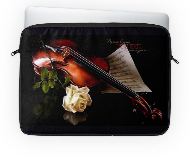 Чехол для ноутбука 14'' Printio Музыка