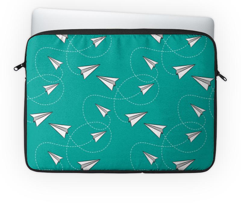 Чехол для ноутбука 14'' Printio Бумажные самолетики чехол для ноутбука 14 printio stickers