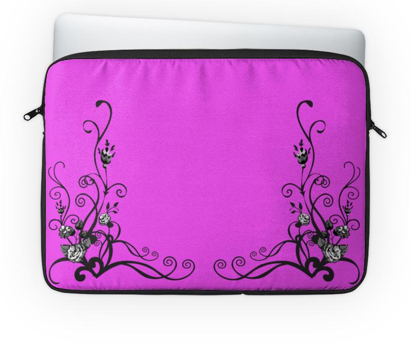 Чехол для ноутбука 14 Printio Цветочное настроение