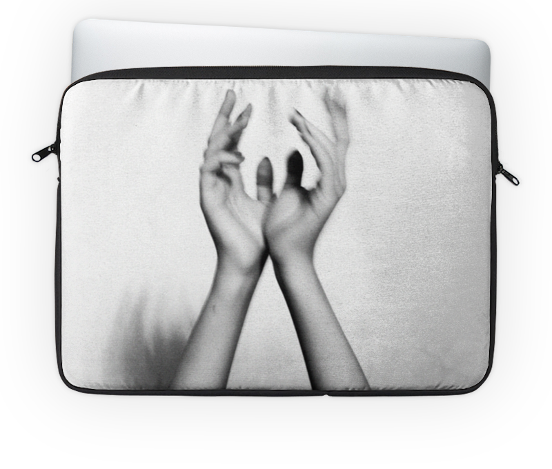 Чехол для ноутбука 14 Printio Hands рюкзак с полной запечаткой printio звездные войны star wars