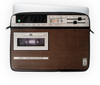 """Чехол для ноутбука 14'' """"Магнитофон Электроника 302"""" - с магнитофоном, с электроникой, со старым магнитофоном, с советским магнитофоном, с кассетным магнитофоном"""