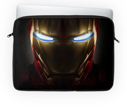 "Чехол для ноутбука 14'' ""Stark industries"" - комиксы, марвел, железный человек, iron man, старк"