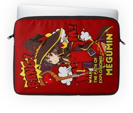 "Чехол для ноутбука 14'' ""Мегумин"" - аниме, манга, konosuba, коносуба, коносуба мегумин"