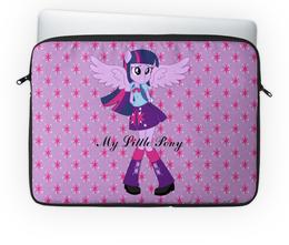 """Чехол для ноутбука 14'' """"Искорка (Девочки Эквестрии)"""" - мой маленький пони, искорка, equestria girls, девочки эквестрии, мультфильм"""