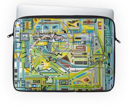 """Чехол для ноутбука 14'' """"Березка"""" - арт, узор, абстракция, фигуры, текстура"""