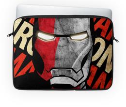 """Чехол для ноутбука 14'' """"iron man"""" - арт, железный человек, iron man"""